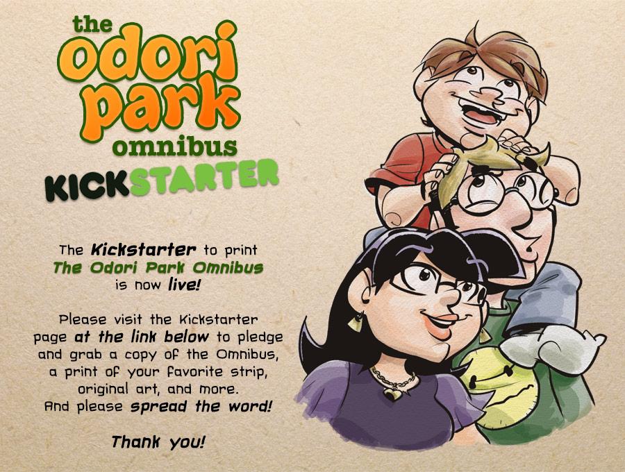 Odori Park by Chris Watkins: The Odori Park Omnibus Kickstarter